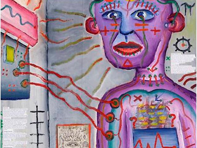Картинки по запросу Автопортрет человека с шизофренией